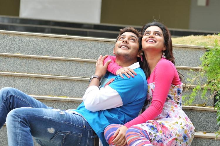 Prince And Dimple Cool Smiling Look Still From Romance Telugu Movie