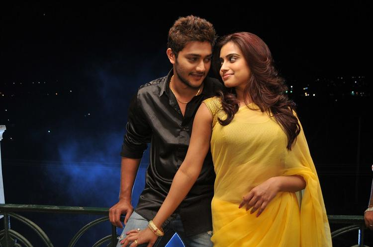 Prince And Dimple Nice Look Still From Romance Telugu Movie