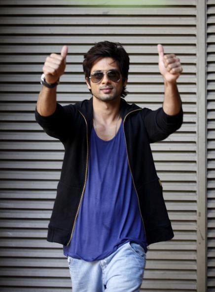 Shahid Kapoor Cool Photo Shoot For Hindustan Times Magazine Feb 2013