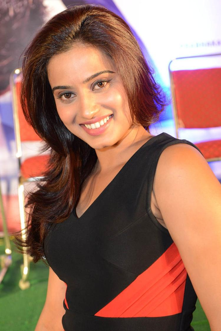 Dimple Looked Radiant And Beautiful Still At Romance Movie Teaser Launch