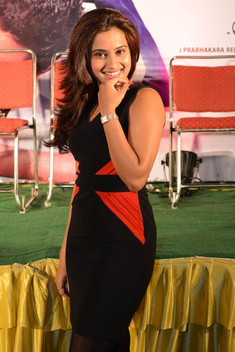 Dimple Sizzling And Attractive Photo Still At Romance Movie Teaser Launch