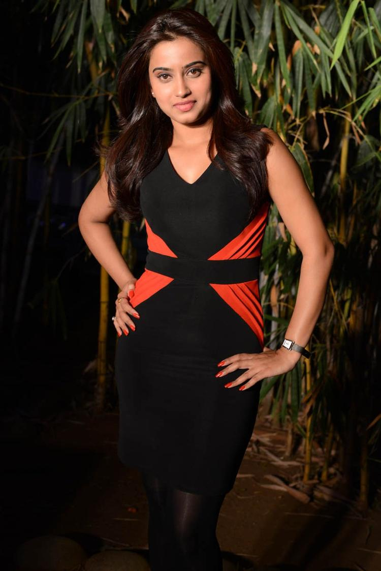 Dimple Spicy Look Photo Still At Romance Movie Teaser Launch