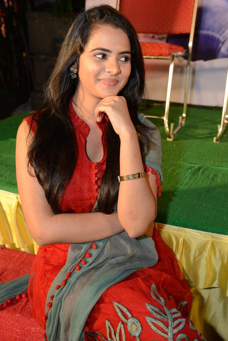 Manasa Stunning Look Photo Still At Romance Movie Teaser Launch