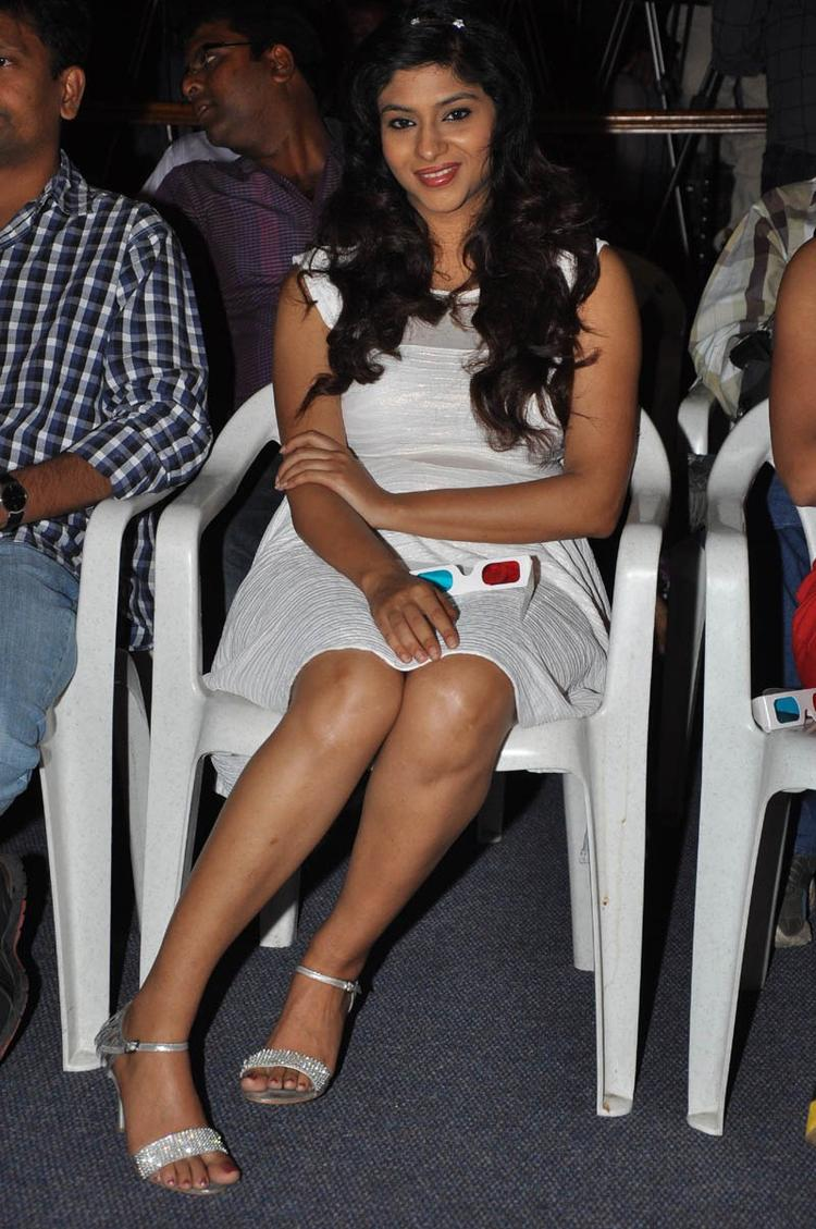 Lakshmi Sexy Leg Show Photo Clicked At Audio Launch Of Movie 143 Hyderabad