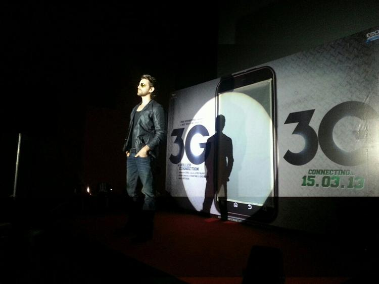 Neil Nitin Stylish Photo Clicked At Launch Of Track Kaise Baataon From Film 3G