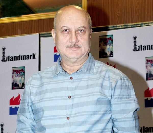 Anupam Kher Make An Appearance At Special 26 Book Launch