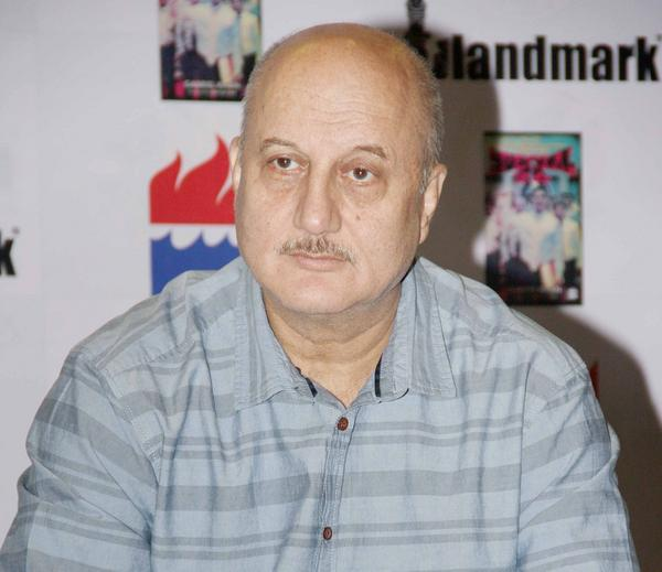 Anupam Kher Photo Clicked At Special 26 Book Launch Event