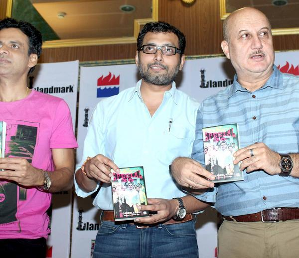 Manoj,Neeraj And Anupam Unveil The Special 26 Book In An Event