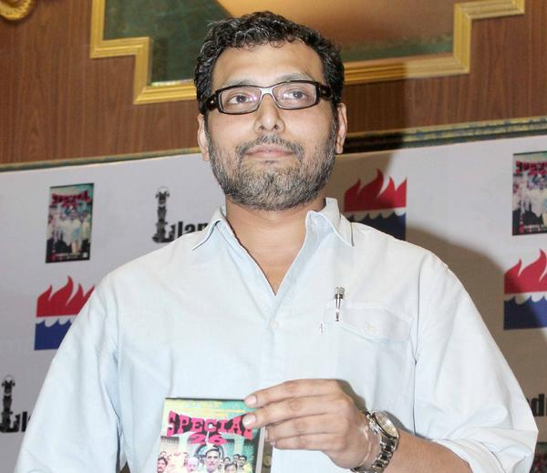 Neeraj Pandey Snapped With The Book At Special 26 Book Launch Event
