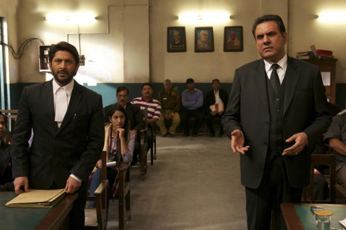Arshad And Boman Nice Look Still From Jolly LLB Movie