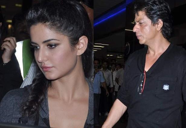 SRK And Katrina Nice Dazzle Pic At Mumbai Airport