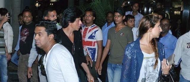 SRK,Mushtaq And Anusha Spotted At Mumbai International Airport