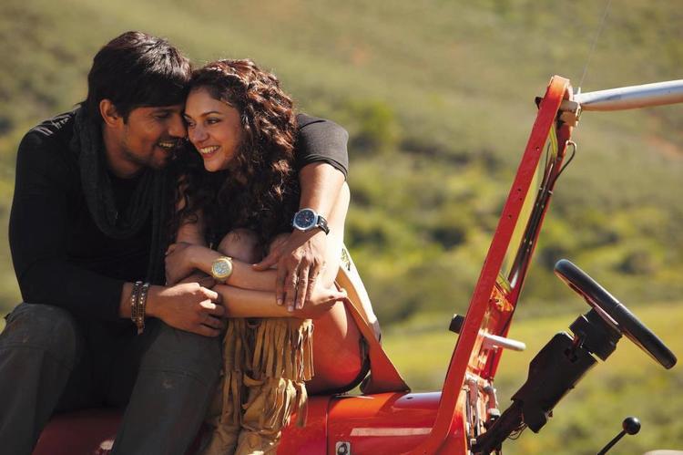 Aditi Rao And Randeep Smiling Photo Still From Thriller Movie Murder 3