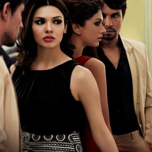Randeep,Aditi Rao And  Nice Expression Photo Still From Movie Murder 3Sara