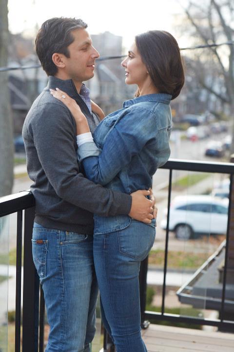 Lisa Ray And Jason Dehni Romance Photo Still