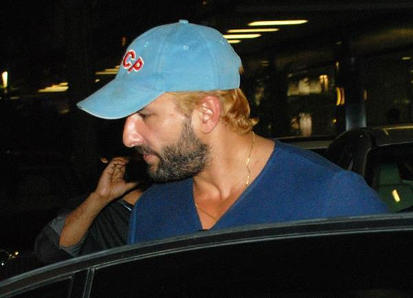 Saif Ali Khan Photo Clicked At Airport In A New Hair Color