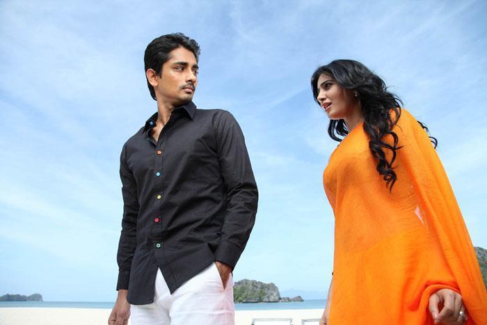 Siddharth And Samantha Song Photo Still From Movie Jabardasth