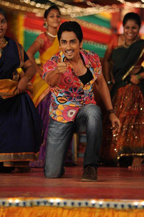Siddharth Smiling Photo Still From Movie Jabardasth
