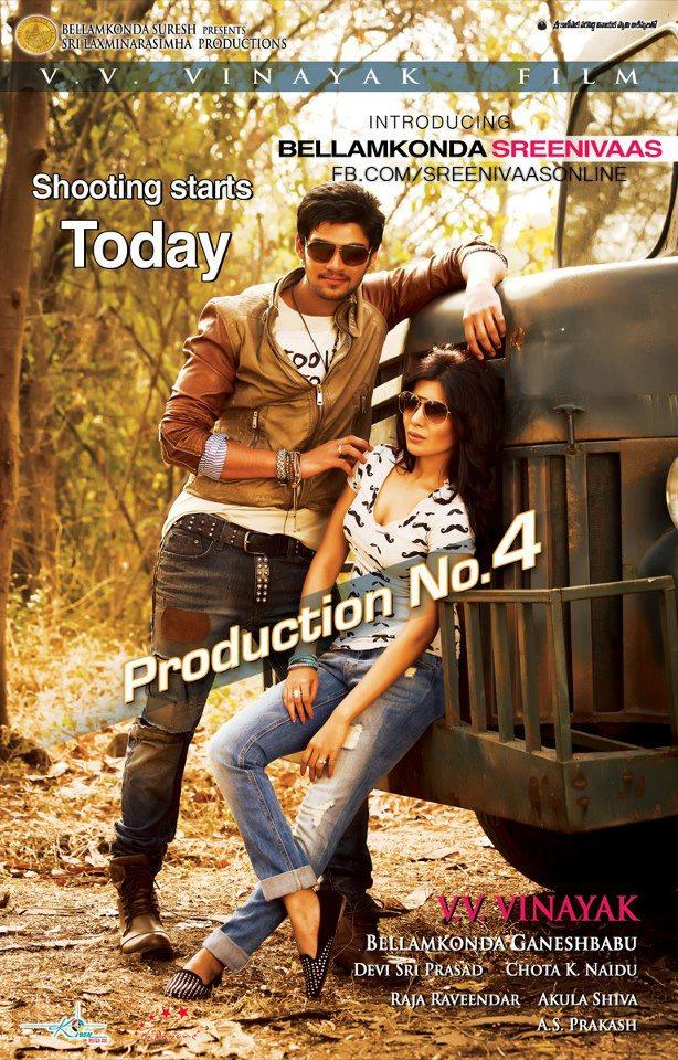 Samantha And Srinivas Latest Photo Poster Of Their Upcoming New Movie