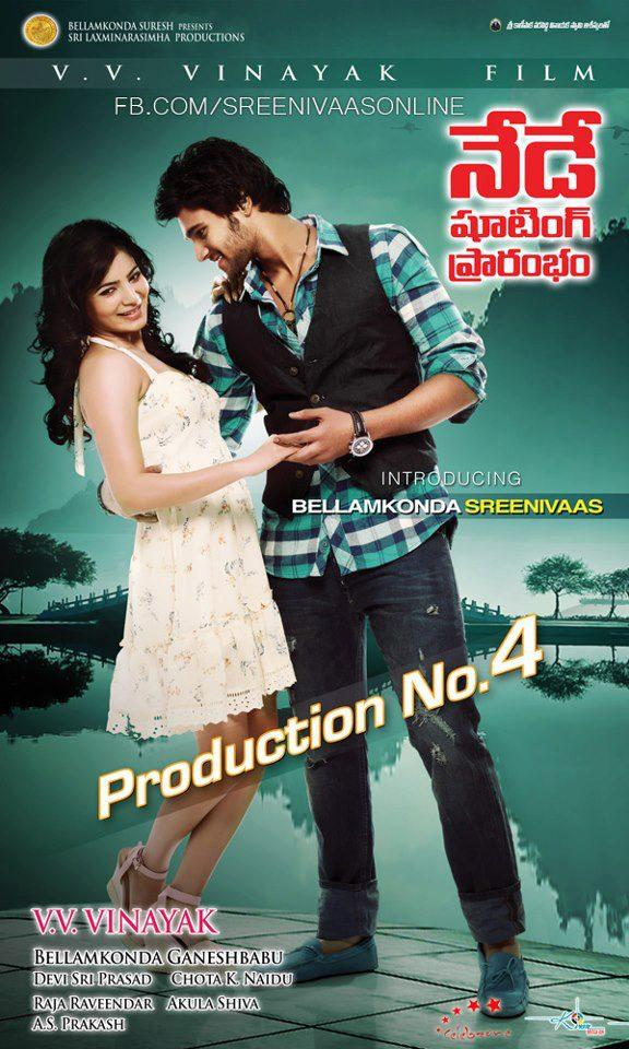 Samantha And Srinivas Sexy Expression Photo Poster Of Their Upcoming New Movie