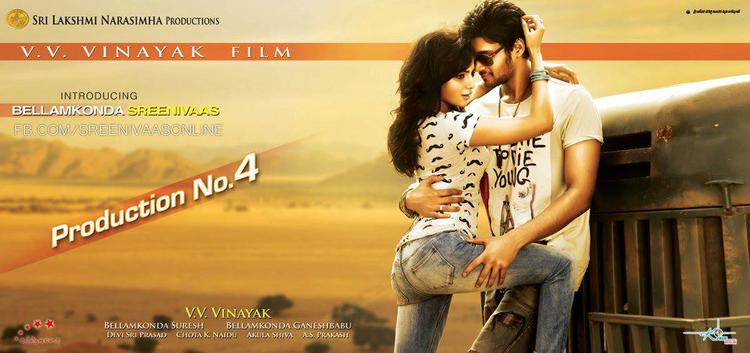 Samantha And Srinivas Sexy Look Photo Poster Of Their Upcoming New Movie