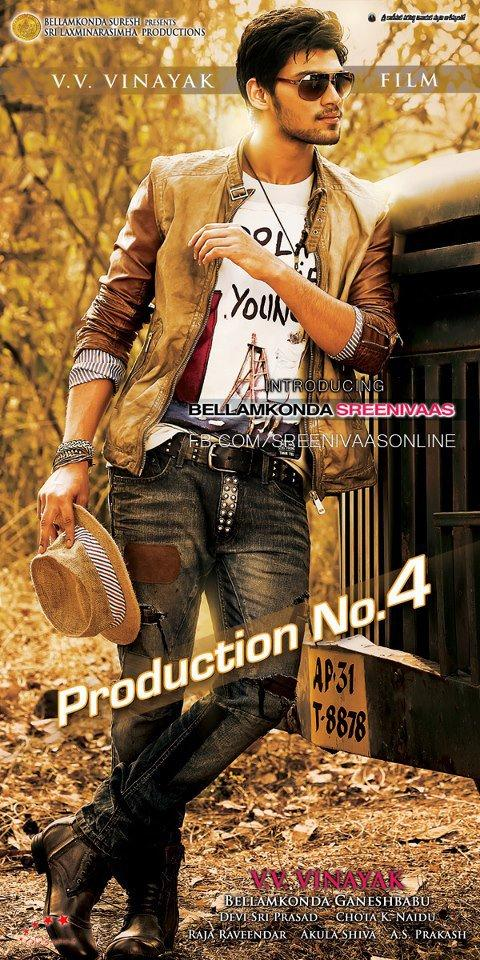 Srinivas Awesome Look Photo Poster Of His Upcoming New Movie