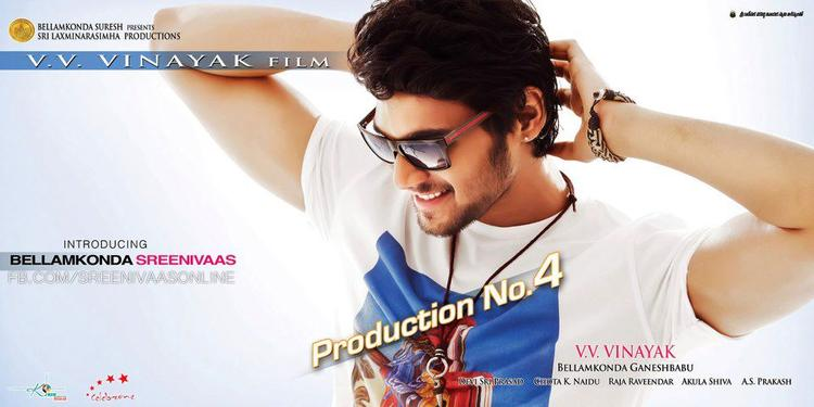 Srinivas Cute Smiling Photo Poster Of His Upcoming New Movie