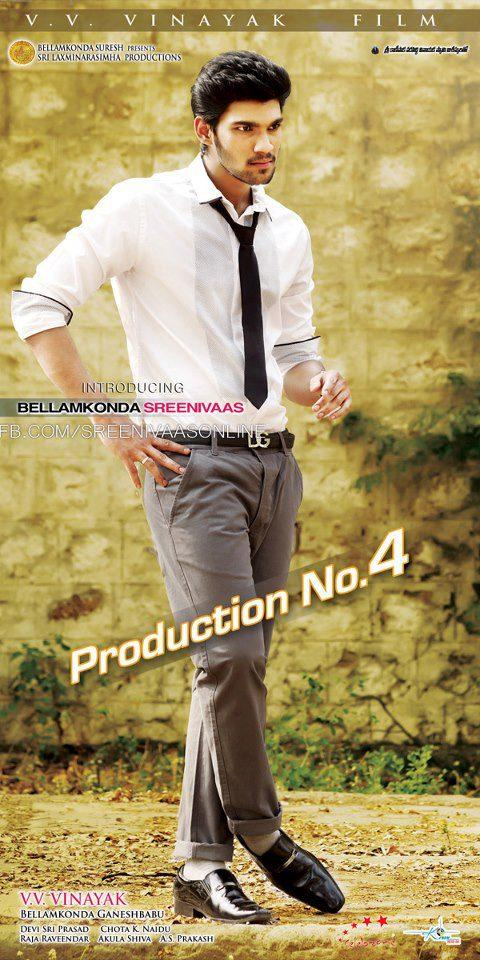 Srinivas Smart Looking Photo Poster Of His Upcoming New Movie