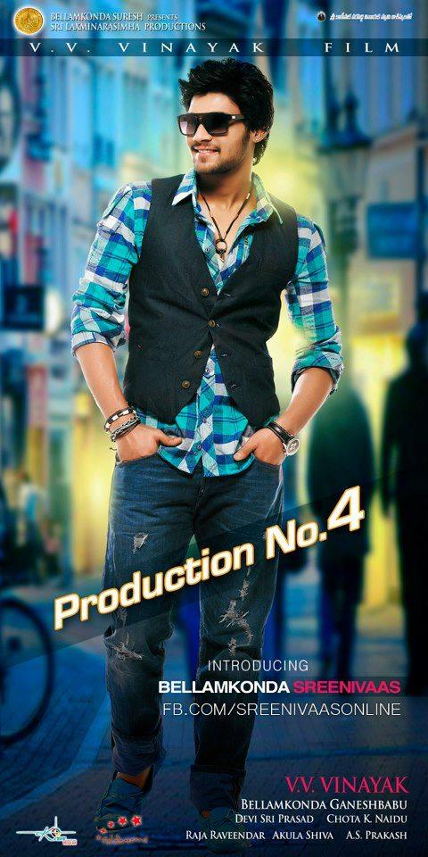 Srinivas Stylish Look Photo Poster Of His Upcoming New Movie