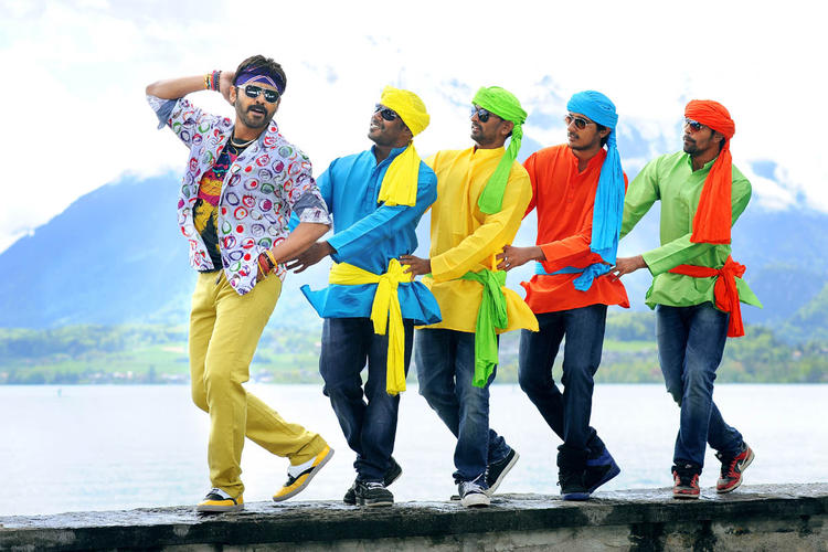 Daggubati Venkatesh Dancing Pose Still From Shadow Movie