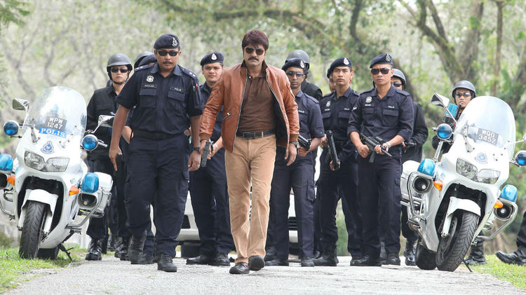 Daggubati Venkatesh rocking Still From Shadow Movie