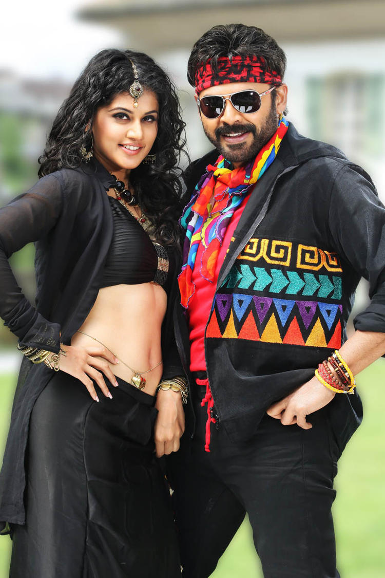 Venkatesh And Taapsee Cool And Nice Look Still From Shadow Movie