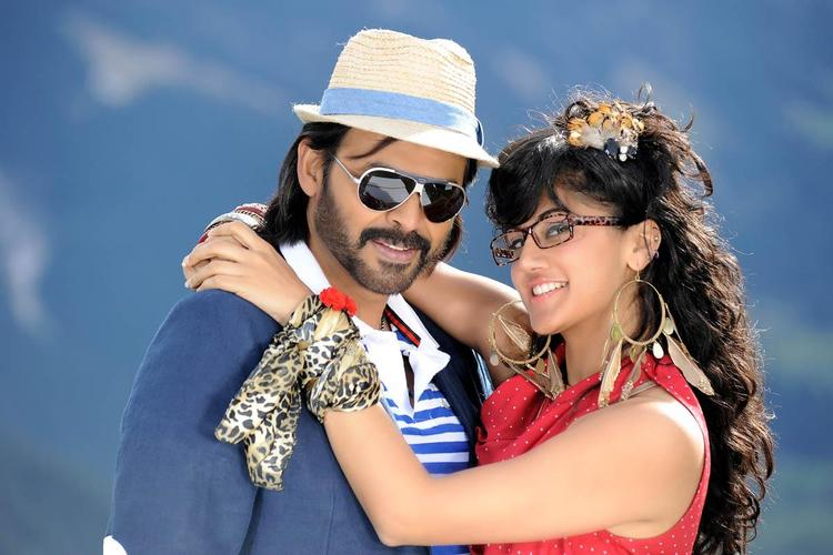 Venkatesh And Taapsee Nice Look Photo Still From Movie Shadow