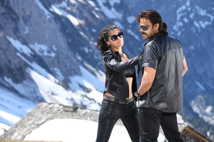 Venkatesh And Taapsee Nice Look Still From Shadow Movie