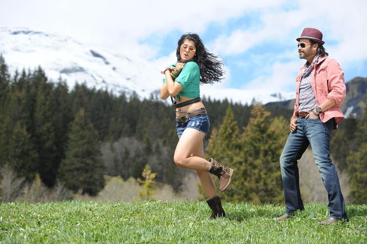 Venkatesh And Taapsee A Song Still From Shadow Movie