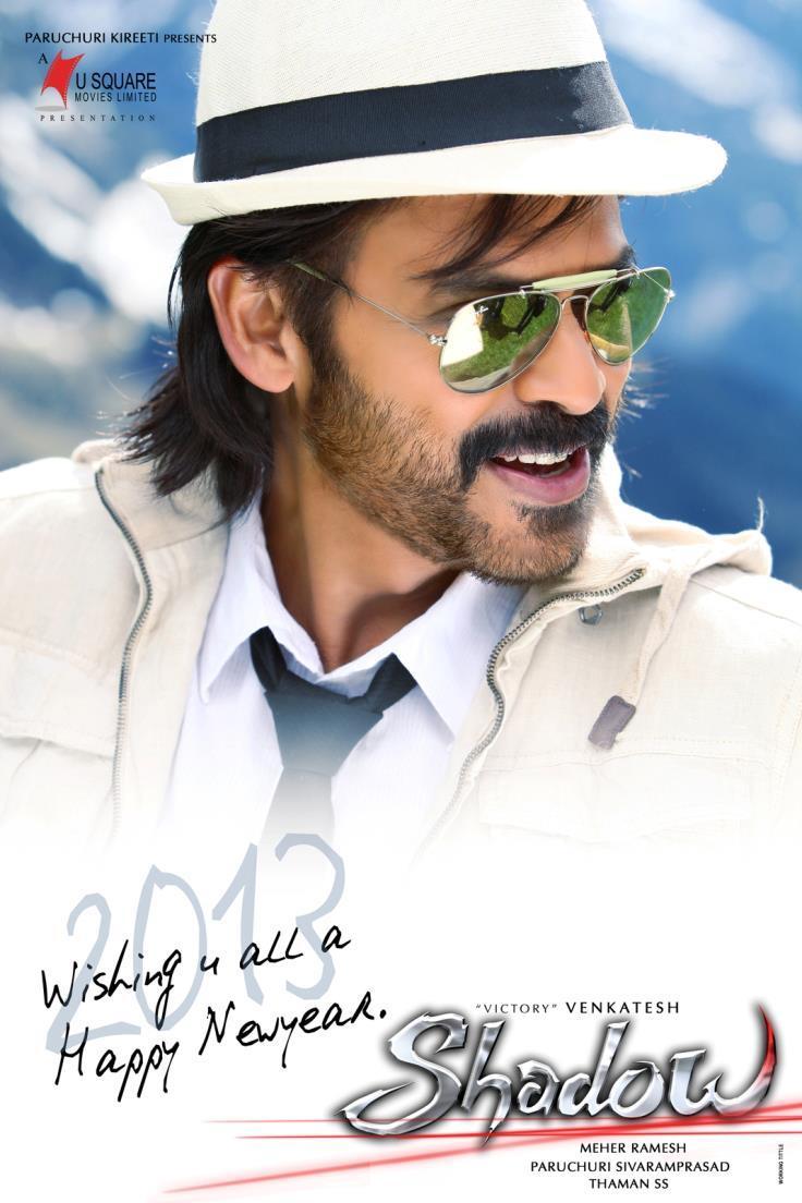 Venkatesh Awesome Photo Poster Of Telugu Movie Shadow