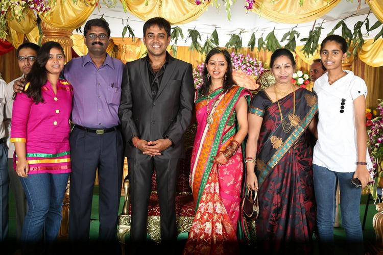 Malavika,Krishna And Other Guests Are At Singer Malavika And Krishna Chaitanya Wedding