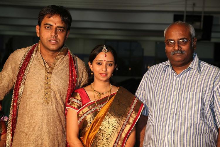 Singer Malavika And Krishna Chaitanya Clicked Photo Still