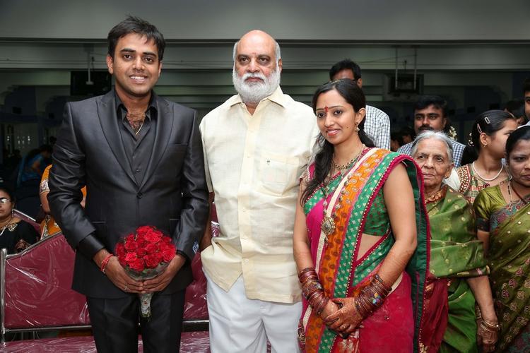 Singer Malavika and Krishna Chaitanya Nice Look Photo