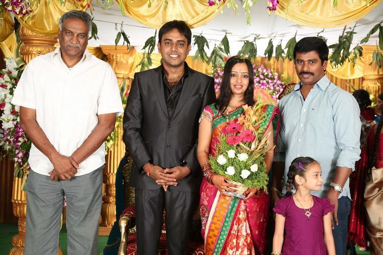 Singer Malavika and Krishna Chaitanya Nice Still At Singer Malavika And Krishna Chaitanya Wedding