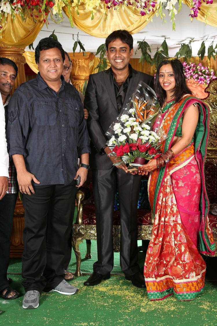 Singer Malavika and Krishna Chaitanya Strike A Pose Still