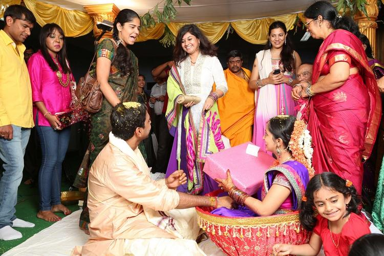 Singer Malavika and Krishna Chaitanya Wedding Photo Still