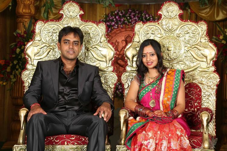 Singer Malavika and Krishna Chaitanya Wedding Still