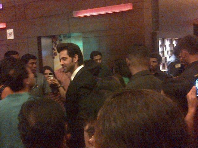 Hrithik Roshan Dazzles At Kai Po Che Premiere Show Event