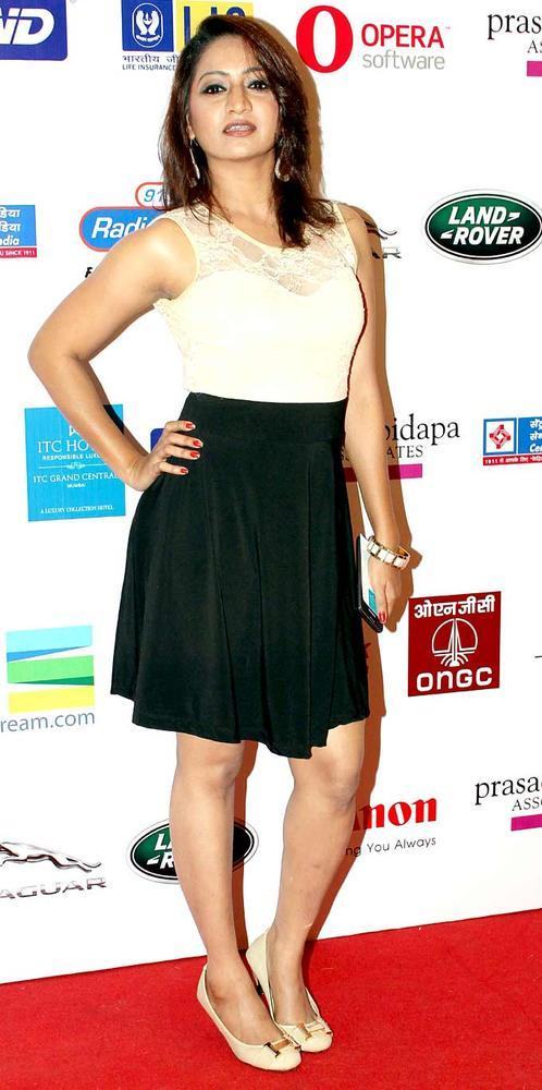 A Bollywood Celeb Strikes A Pose At The Smile Foundation Show