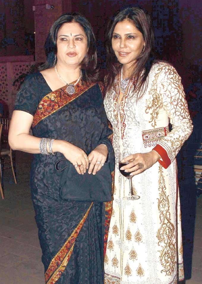 Kunika And Nisha Snapped At Gala Dinner For The 15th Edition Of The RPG Art Camp