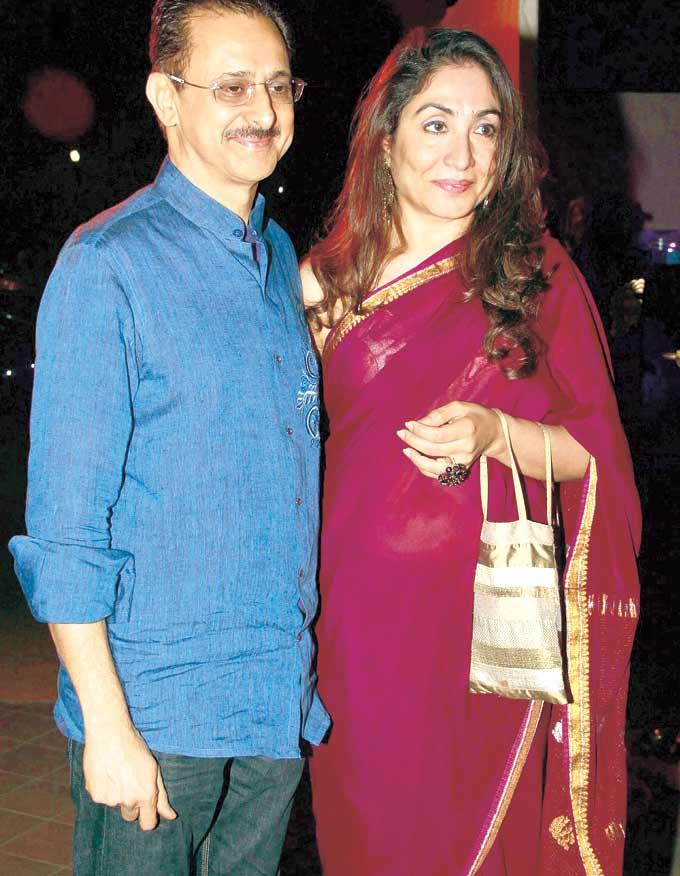 Seema With Hubby Jaideep Spotted At Gala Dinner For The 15th Edition Of The RPG Art Camp
