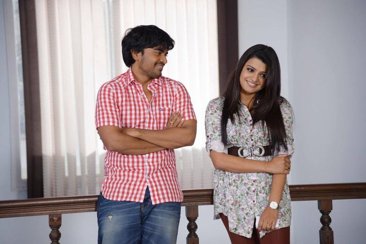 Mangam And Tashu Conversation Photo Still From Movie Gola Seenu