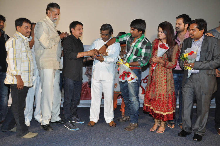 Srinivas,Tashu,Raj And Sirivennela Launched Gola Seenu Audio