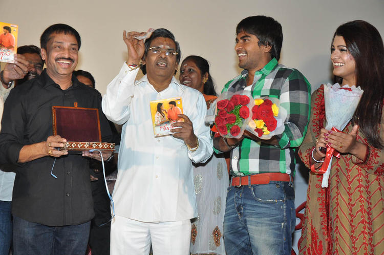 Srinivas,Tashu,Raj And Sirivennela Photo Clicked At Gola Seenu Audio Launch Function